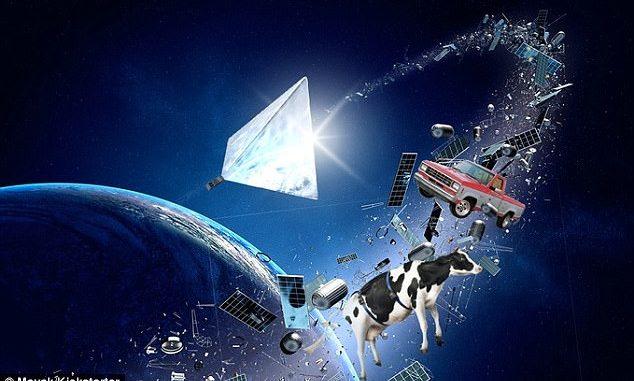Non è un UFO m è Mayak la nuova luce nei cieli