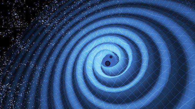 La fusione di due buchi neri è un evento straordinario che genera onde gravitazionali capaci di increscapare l'intero universo. Queste ondulazioni nello spaziotempo potrebbero essere utilizzate per fornire una prima prova empirica a ulteriori dimensioni nascoste.