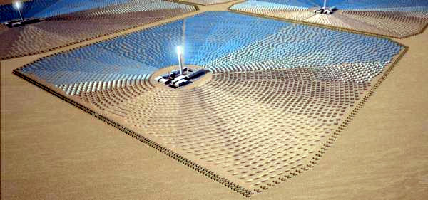 Progetto TuNur, gigawatt di energia solare dal deserto