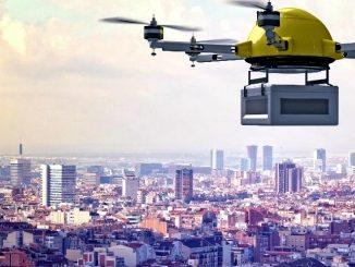 Droni postali per consegnare i pacchi express