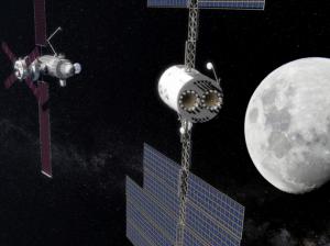 Illustrazione: Deep Space Gateway. Permetterà di sperimentare tutto ciò che è necessario per il viaggio verso Marte.| NASA