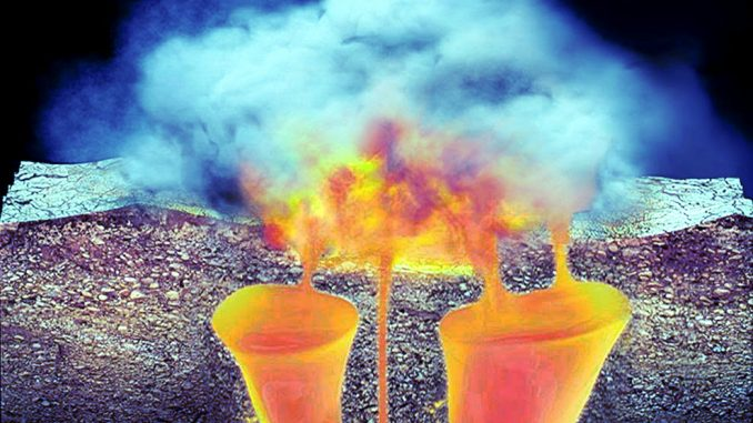 Produrre energia elettrica dal vulcano di Yellowstone