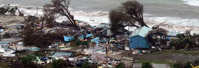 L'Uragano Irma ha modificato le Isole Vergini