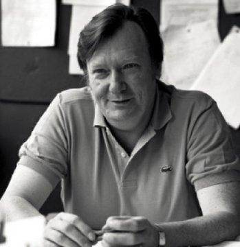 Carlo Rubbia, nel 1984, subito dopo aver vinto il premio Nobel per la scoperta dei bosoni W± e Z0.