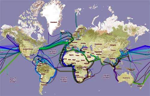 L'internet superveloce che viaggia sotto gli oceani!