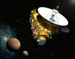Illustrazione: il viaggio della New Horizons, oltre Plutone.