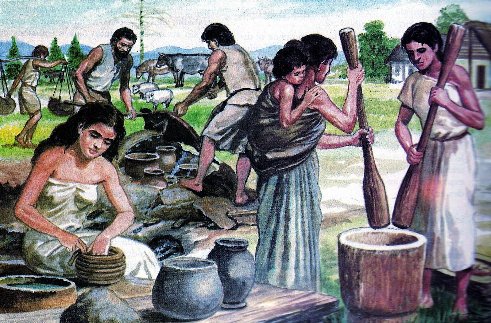 Le donne hanno contribuito allo scambio della cultura e dei popoli fin dall'antichità