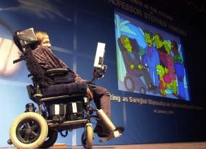 Il noto fisico Stephen Hawking si è così espresso sull'intelligenza extraterrestre:esiste, ma è meglio non incontrarla.| SK/PB