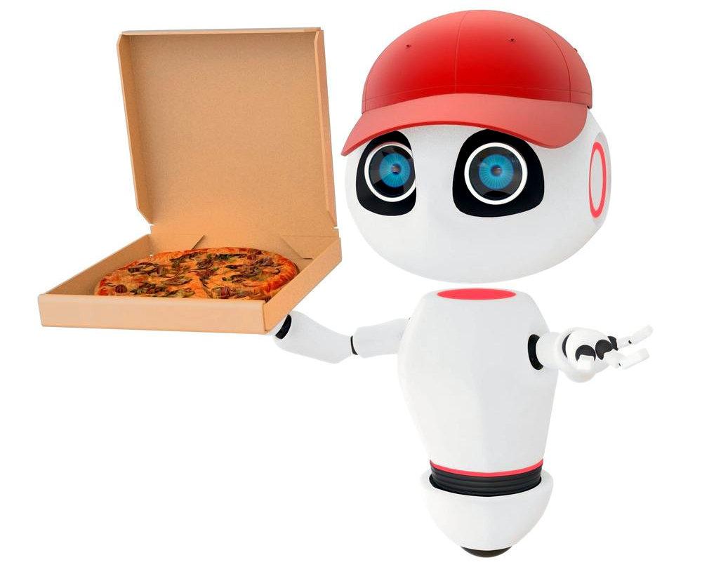 In Usa la pizza arriva a casa con l'auto-robot di Ford