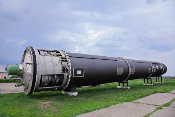 Un missile balistico intercontinentale dell'epoca della Guerra Fredda. Pyongyang dichiara di essere pronta a montare una bomba H su un vettore a lunga gittata.| SHUTTERSTOCK