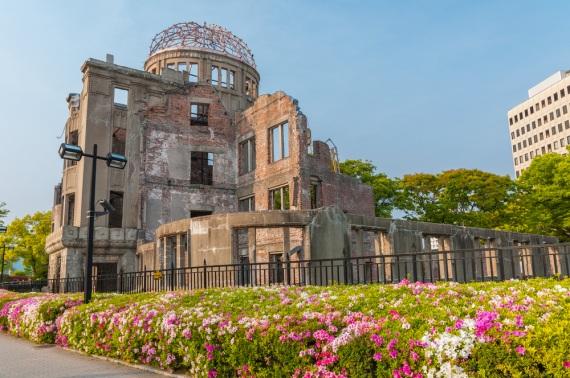 Il Memoriale della Pace di Hiroshima, con i resti spettrali della devastazione atomica del6 agosto 1945.| SHUTTERSTOCK