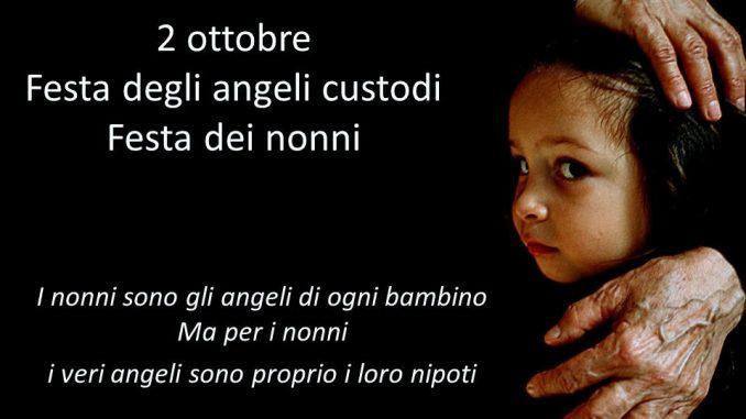 Festeggiamo oggi 2 ottobre i nostri Angeli Custodi