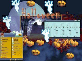 Halloween con il generatore automatico di fantasmi...