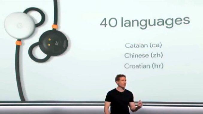 PixelBud, l'auricolare intelligente di Google per la traduzione simultanea