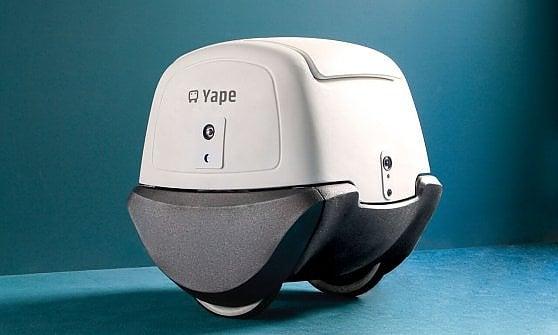 Yape, il postino robot made in Italy, entra in servizio a Cremona