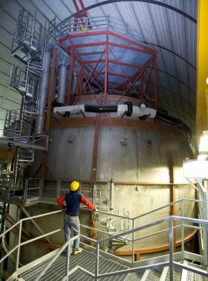 Il rilevatore di neutrini Borexino.| INFN