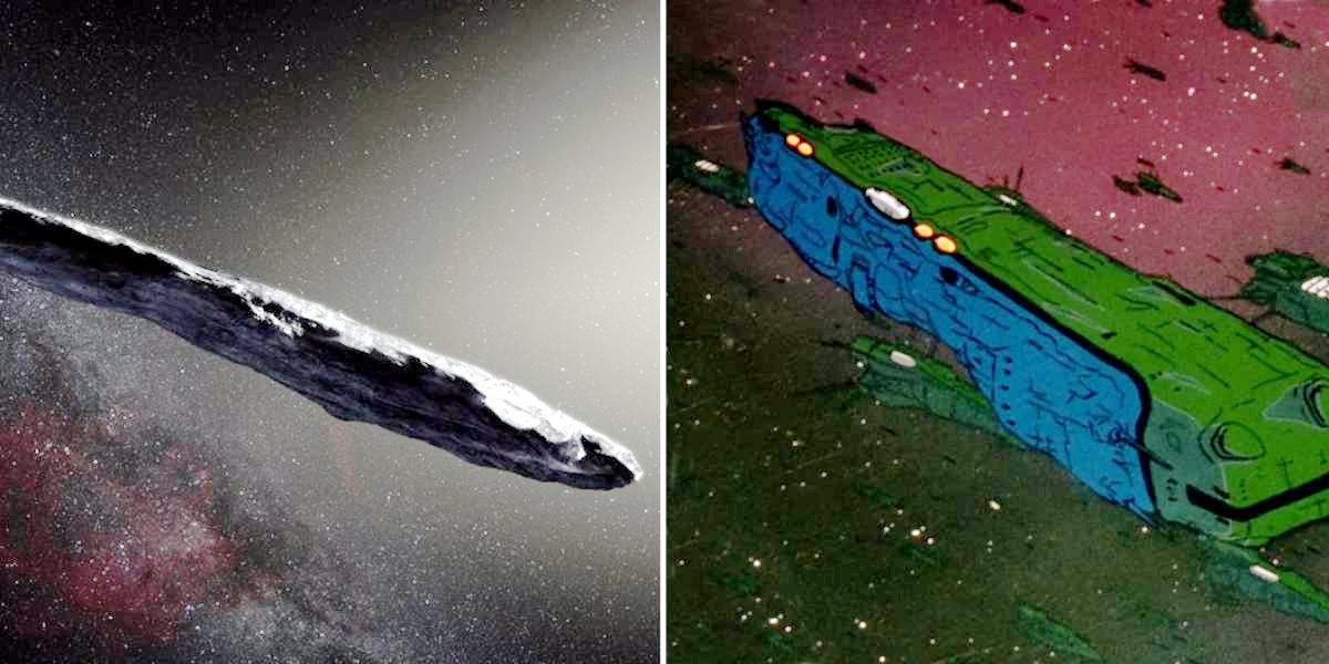 Astronave aliena o asteroide?
