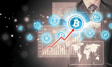 """Le """"montagne russe"""" dei BitCoin in borsa mercato"""