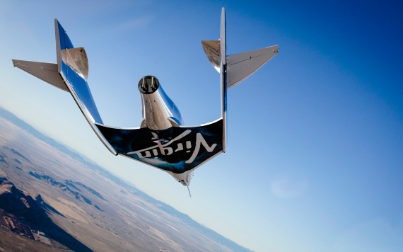 Virgin SpaceShip Unity, l'aereo razzo suborbitale di Virgin Galactic (in sigla, VSS Unity). | Virgin Galactic