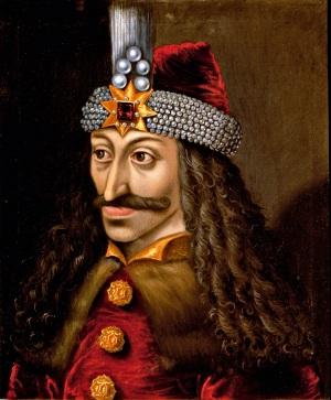 Un ritratto di Vlad III (anonimo, XIV sec.), meglio conosciuto come Dracula: ha superato la prova del tempo per un mix di crudeltà e fortuna (per il fascino che ha esercitato su scrittori, registi, culti...).