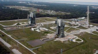 Il complesso di lancio 17 a Cape Canaveral, in Florida. Il sito, che ospitava i lanciatori Delta II, sta diventando una test facility di Moon Express. Crediti: U.S. Air Force
