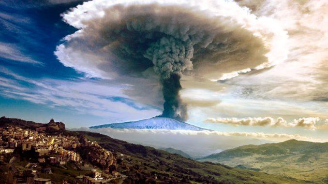 Una gigantesca sorgente di fluidi crea le emissioni dell'Etna