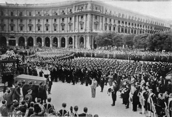 Funerali di Stato per Guglielmo Marconi (1937): vi partecipò un'impressionante folla, forse 500.000 persone. Si parlerà ancora di lui nel 3018?| RADIO MARCONI