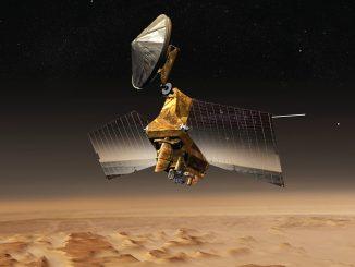 Mars Reconaissance Orbiter, enormi depositi di ghiaccio su Marte