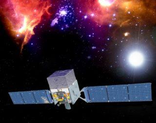 Il satellite Fermi. Crediti: NASA