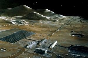 cannone a rotaia, cannone di Gauss, satelliti, colonizzazione della Luna
