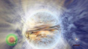 L'orbita stabile più vicina al buco nero. Crediti: John Hawley (University della Virginia).