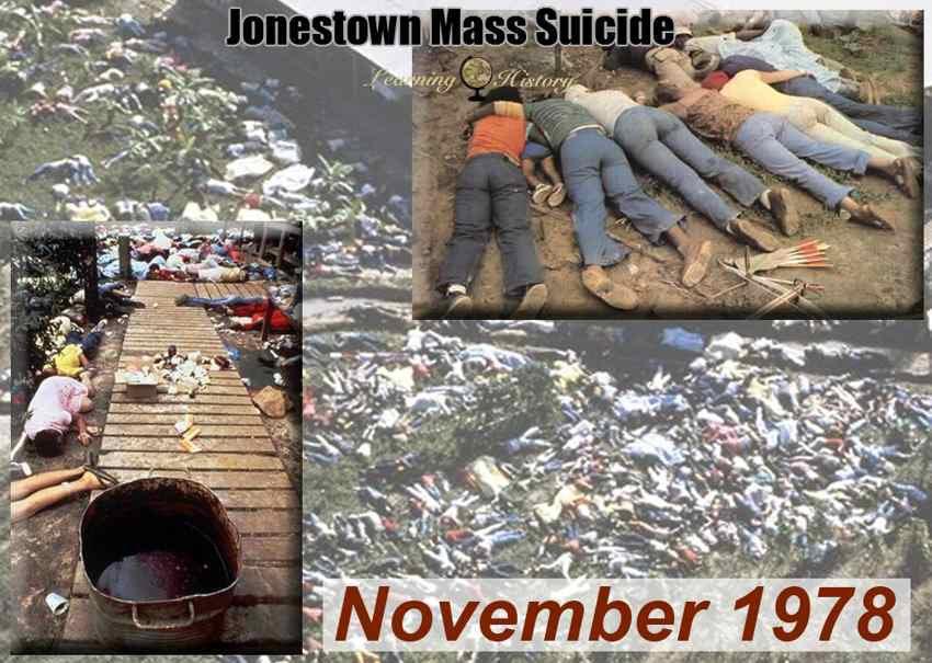 Cosa accadde a Jonestown nel novembre 1978?