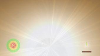 Immagine che mostra quello che si vedrebbe all'orizzonte di Cauchy. Crediti: John Hawley (University della Virginia).