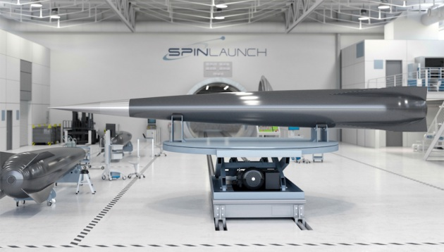 SpinLaunch propone di lanciare satelliti con una catapulta.|SpinLaunch / TechCrunch