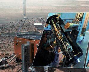 L'Italia su Marte con una trivella per cercare la vita