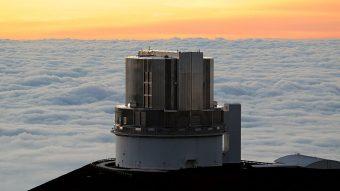 Il telescopio Subaru, localizzato sulla cima del Mauna Kea, nelle Hawaii. Crediti: Bob Linsdell