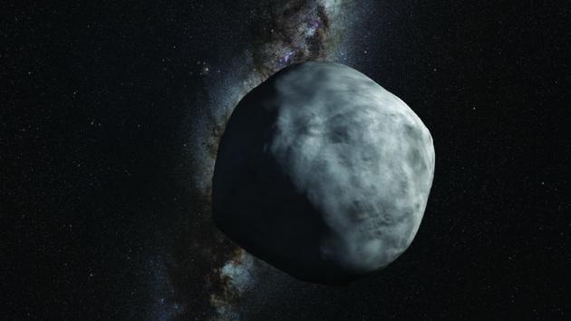 L'asteroide Bennu in un'illustrazione della Nasa.|NASA