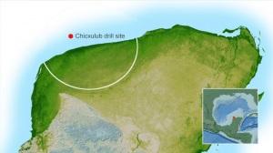 Il cratere di Chicxulub si estende per oltre la metà in mare: l'asteroide dei dinosauri (vedi)viaggiava ad appena 65.000 km/h, la metà di Bennu, ma misurava circa 10 km di diametro - contro i 500 metri di Bennu.| NASA