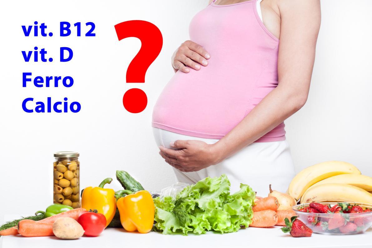 La dieta vegana apporta deficit in gravidanza