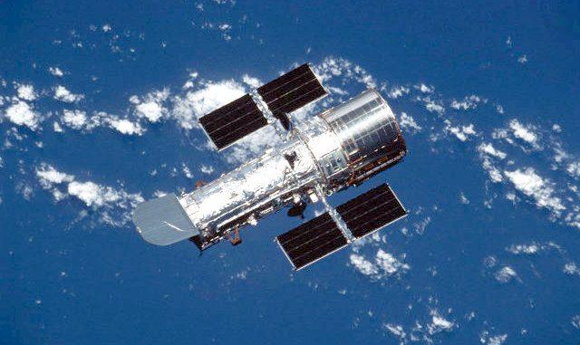 Fotografate da Hubble le galassie amanti