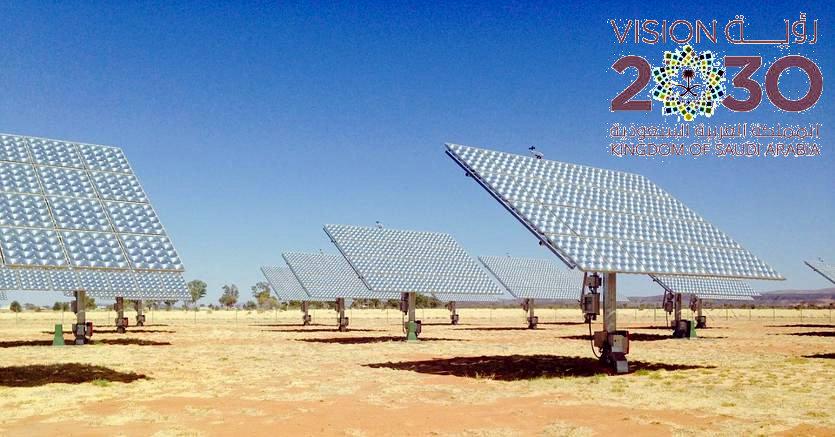 In Arabia Saudita il parco fotovoltaico più grande del Mondo