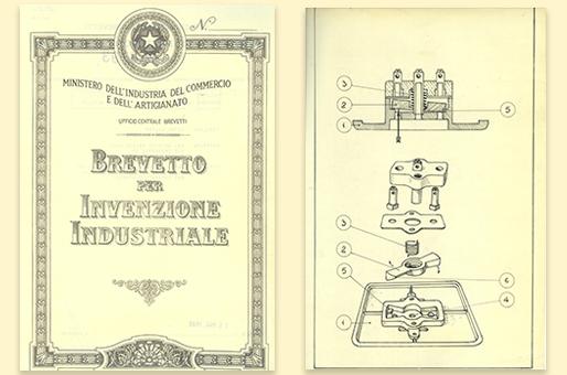brevetto industriale presa elettrica Vimar