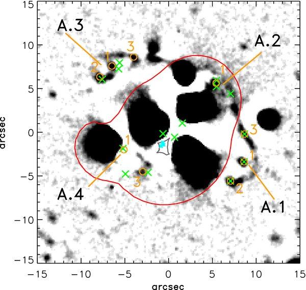 La matera oscura interagisce solo con la forza gravitazionale
