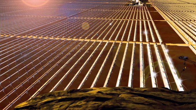 Il deserto come fonte di energia fotovoltaica