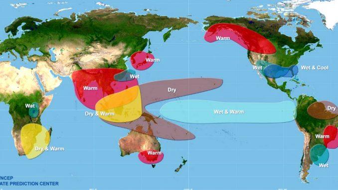 Nuovi fenomeni atmosferici a causa del riscaldamento globale