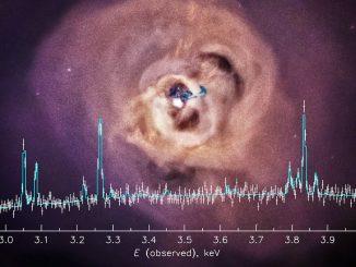 Scoperto il decadimento della materia oscura in un neutrino sterile