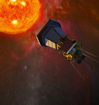 Rappresentazione artistica del Parker Solar Probe. Crediti: Jhu/Apl