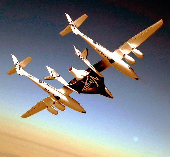 Turismo spaziale, al via il progetto Virgin Galactic