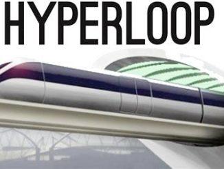 In treno superveloce alla velocità dal suono