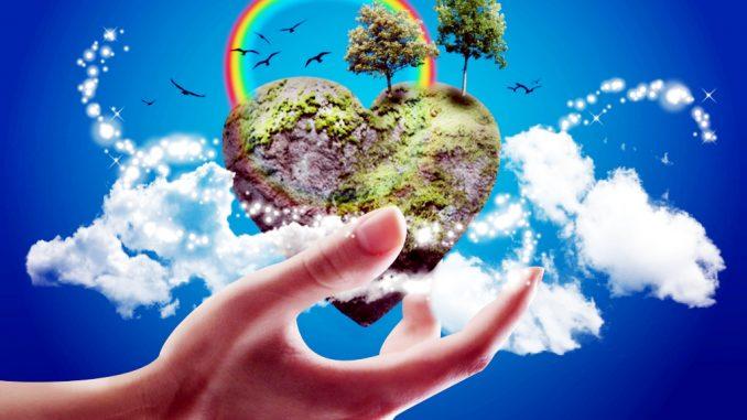 Oggi è L'Earth day, amiamo tutti il benessere della Terra
